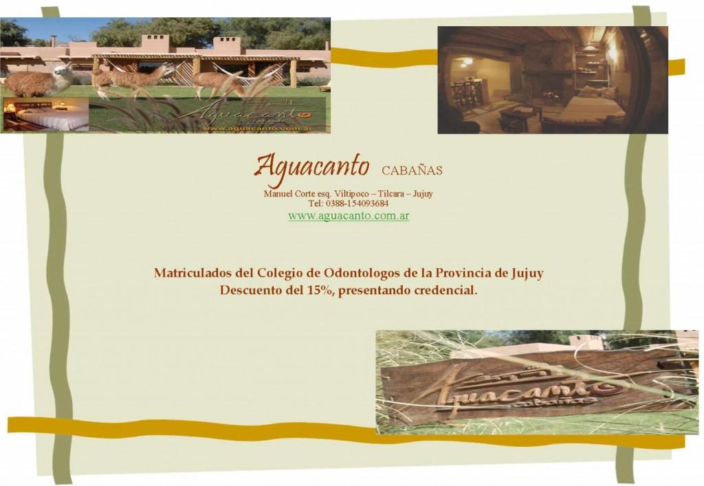 Aguacanto Cabañas - Tilcara Jujuy