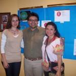 Exposición de trabajos presentados para el concurso Buscando logo para nueva campaña contra el intrusismo y Brindis por el Día del Odontólogo
